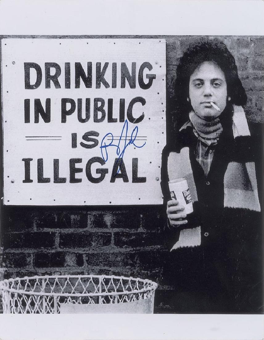 Billy Joel Oversized Signed Photograph