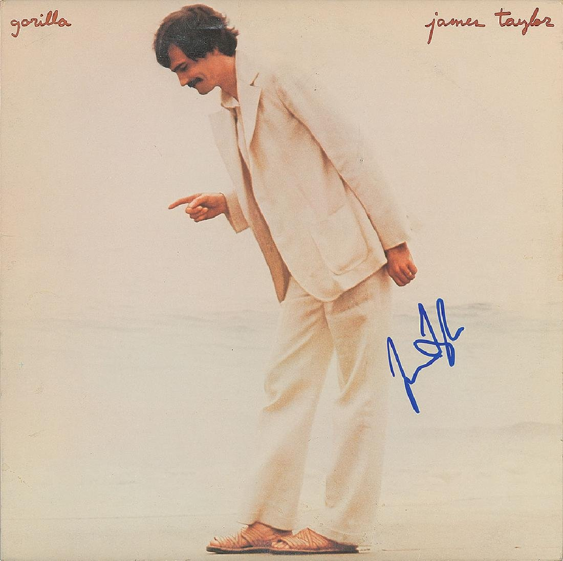 James Taylor Group of (3) Signed Albums