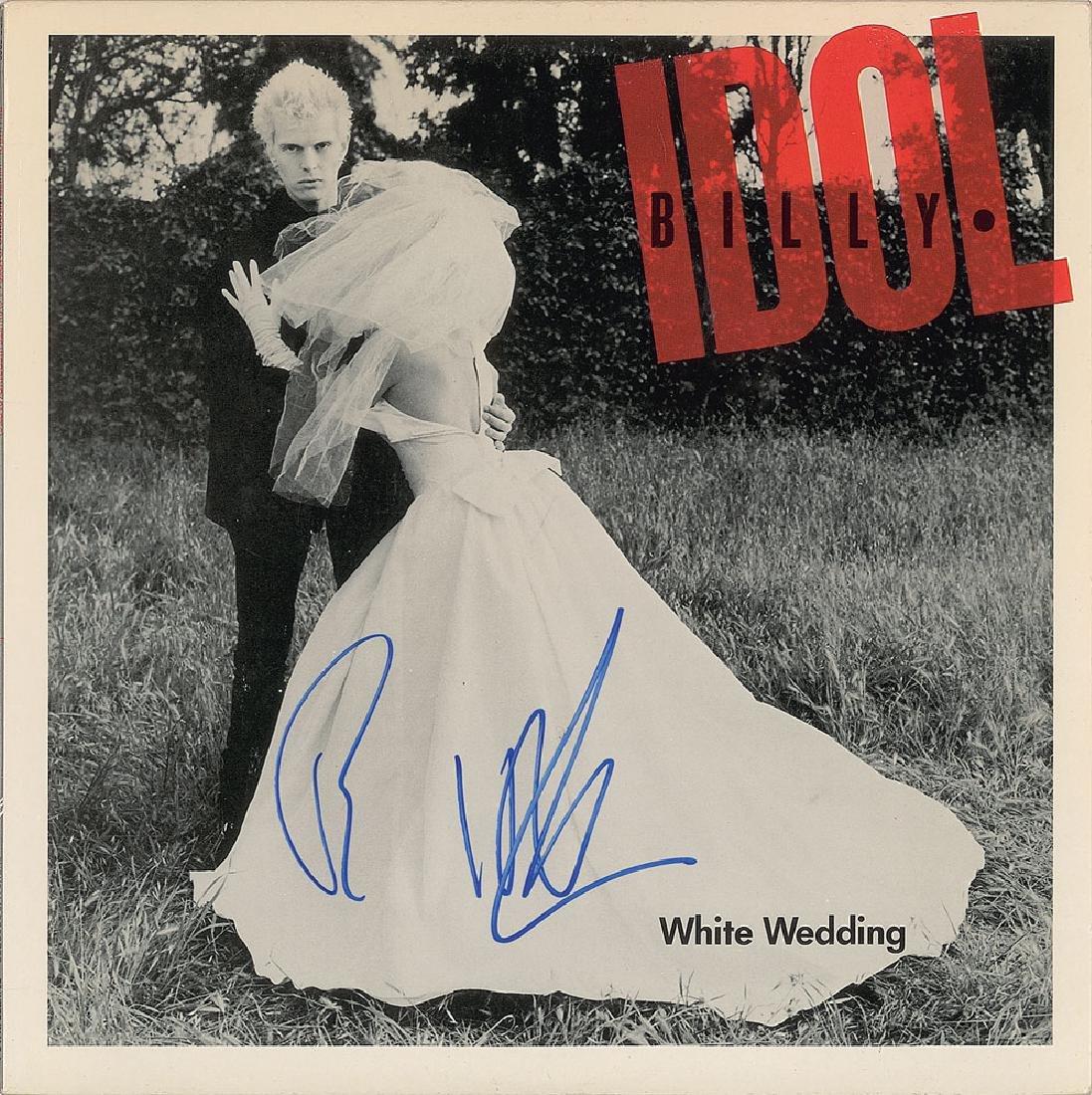 Billy Idol Signed Album