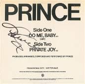 Prince Signed Album