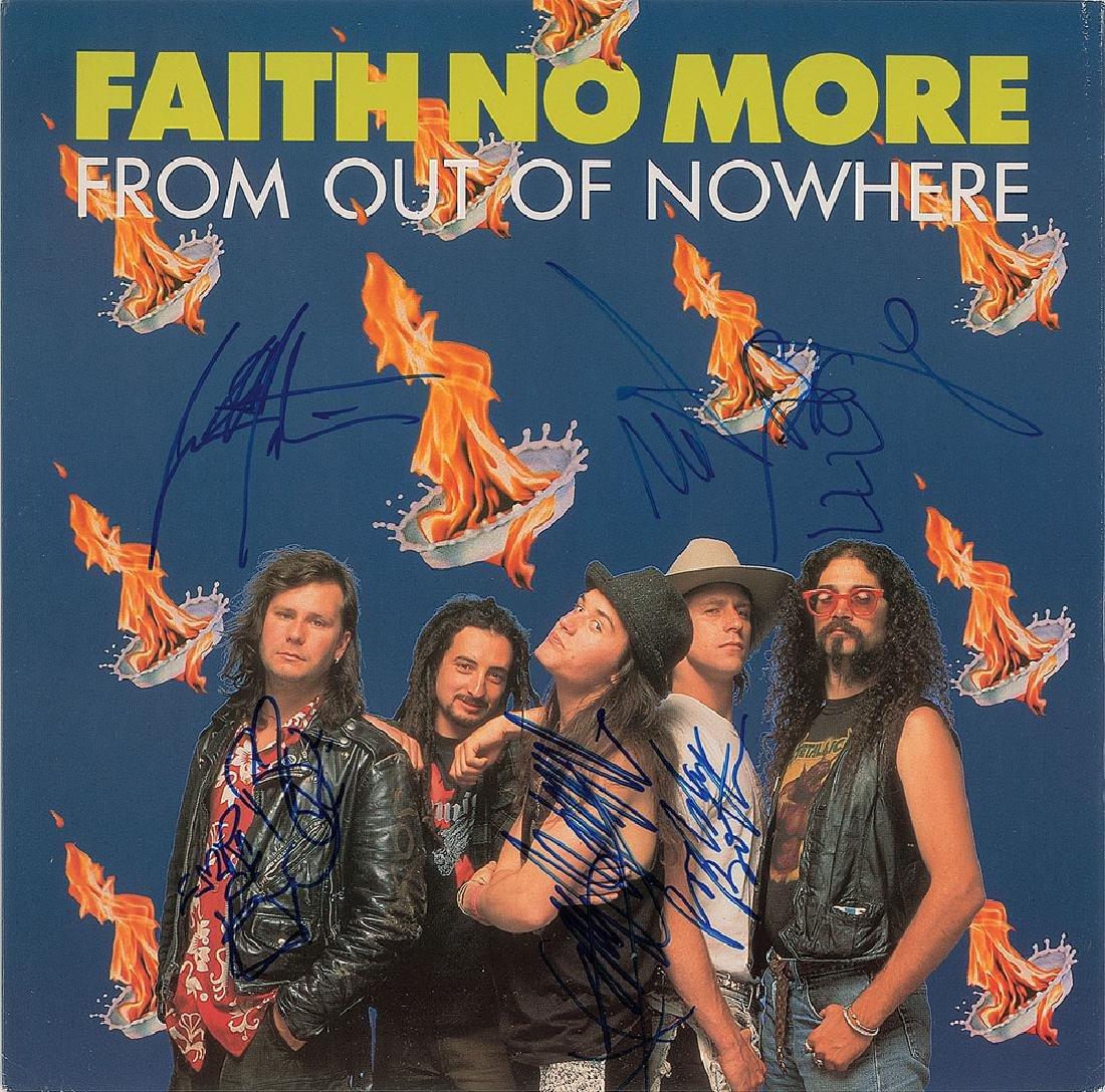Faith No More Signed Album