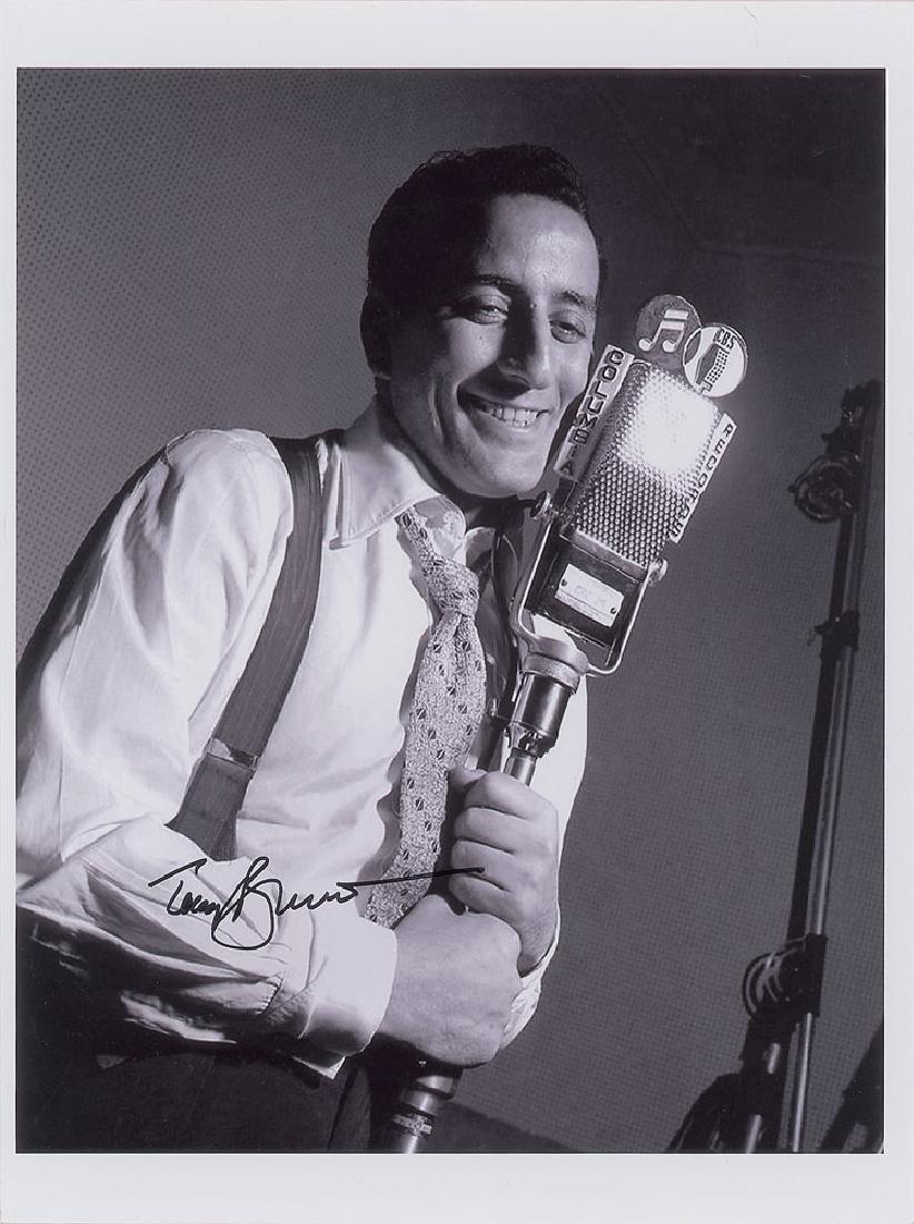 Tony Bennett Oversized Signed Photograph