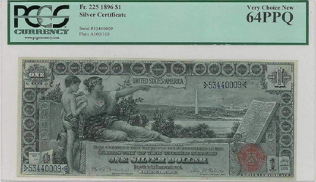Fr. 225 $1 1896 Silver Certificate