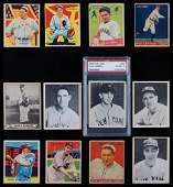 1933-40 Pre War Hall of Famer Collection (12)