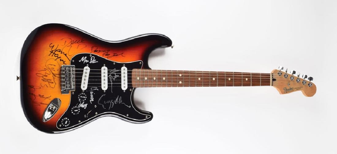 The Allman Brothers Signed Guitar