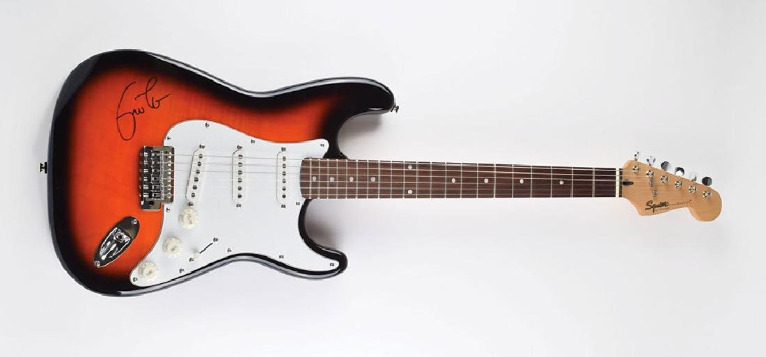 Eric Clapton Signed Guitar