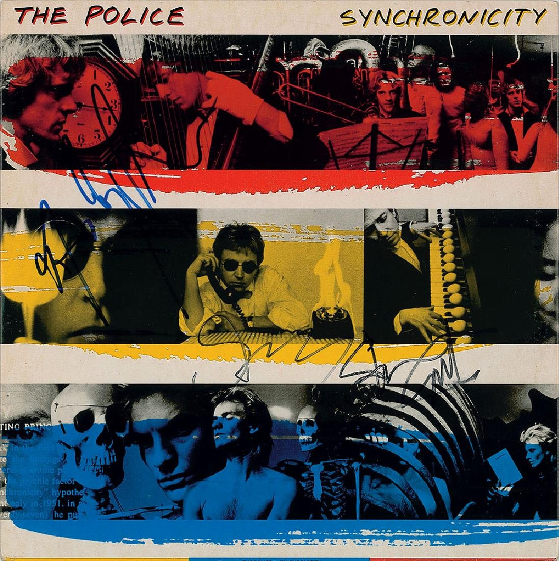 The Police Signed Album