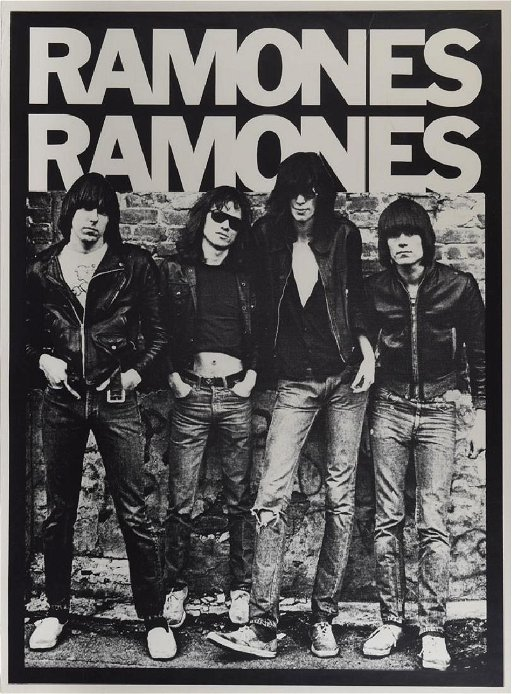 The Ramones Debut Album Cover Poster