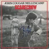 John Mellencamp Pair of Signed Albums