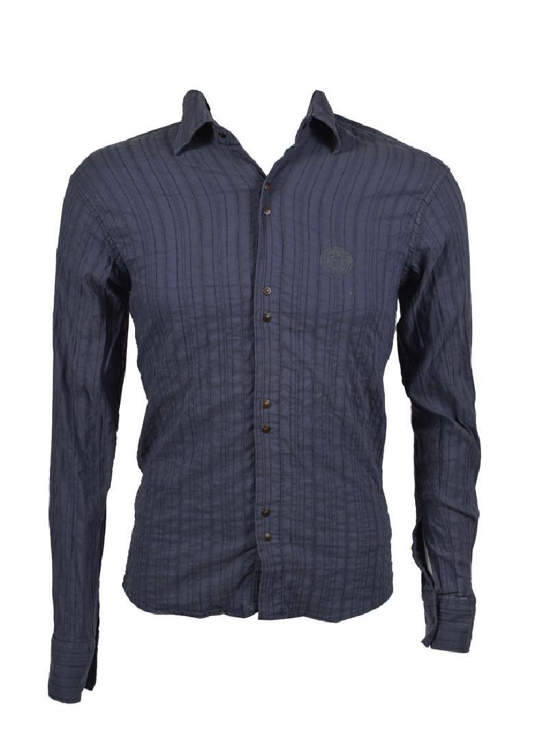 Prince's Personally-Worn Gray Versace Shirt