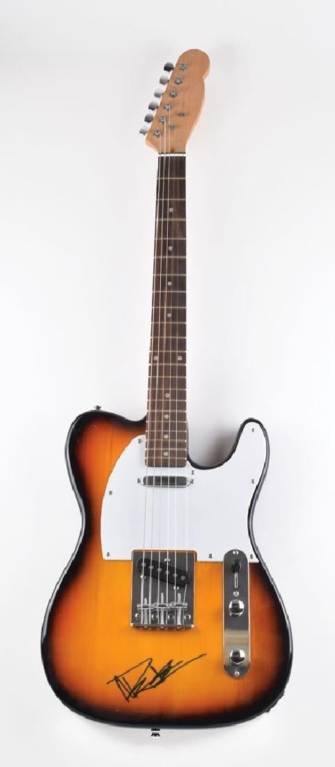 Dave Matthews Signed Guitar