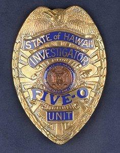 Jack Lord's Personal Hawaii Five-O Badge, Pilot Script,