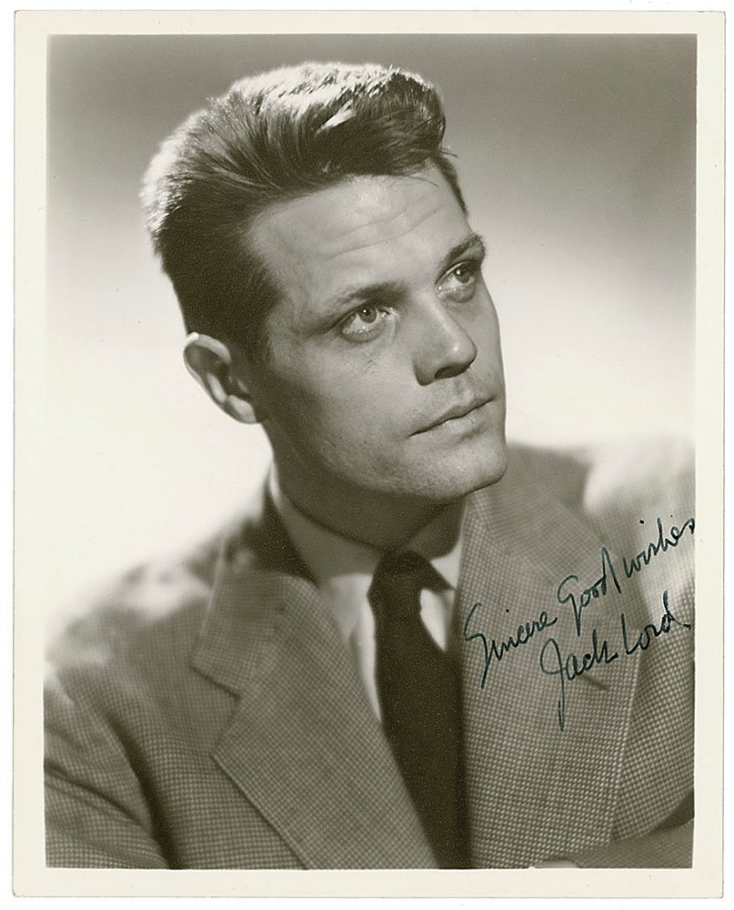 Jack Lord's Personal Hawaii Five-O Badge, Pilot Script, - 5