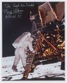 Buzz Aldrin Signed Photograph
