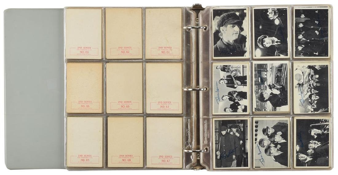 Beatles Collection of (6) 1964 Trading Card Sets - 2