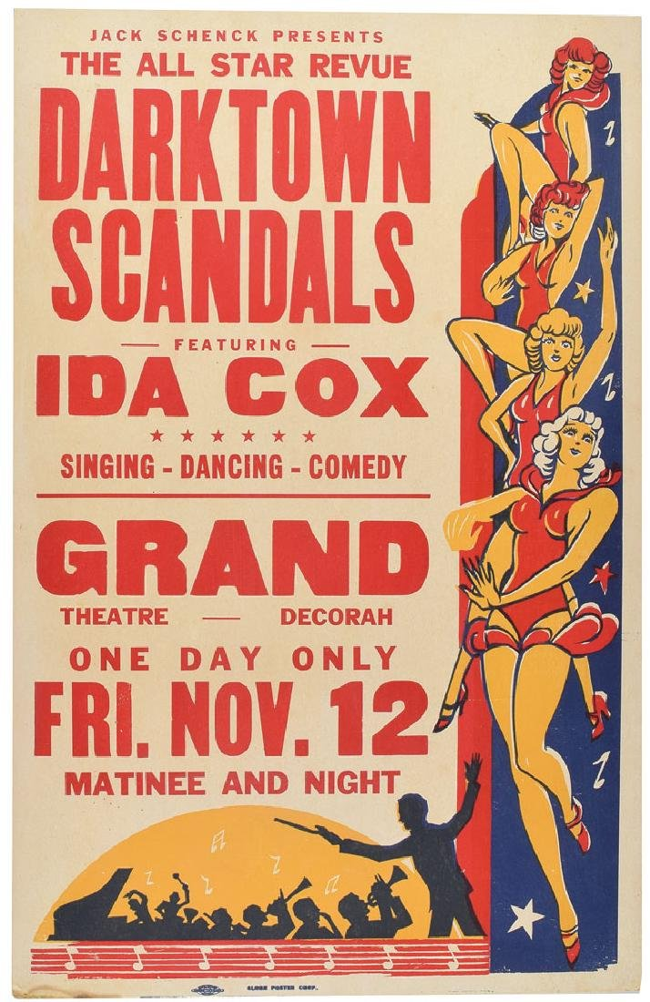 Ida Cox Poster