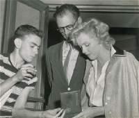 Marilyn Monroe and Arthur Miller