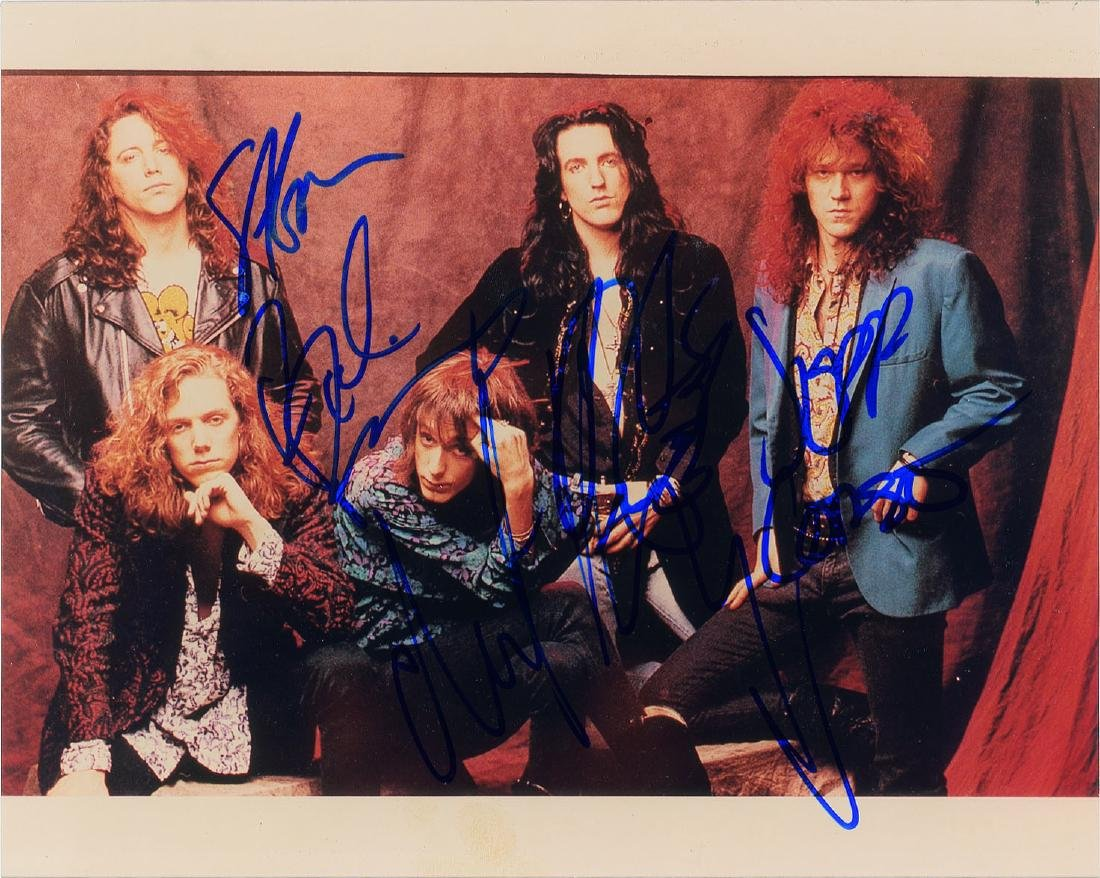 The Black Crowes Signed Photograph