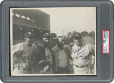 Babe Ruth Signed Photograph - PSA/DNA