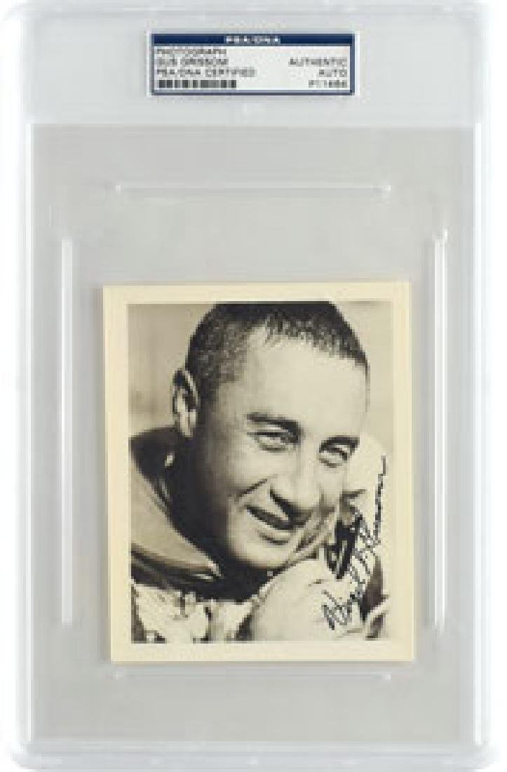 Gus Grissom Signed Photograph
