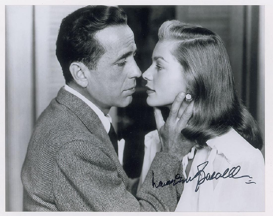 Lauren Bacall Autographed Photo Profit Small Photographs