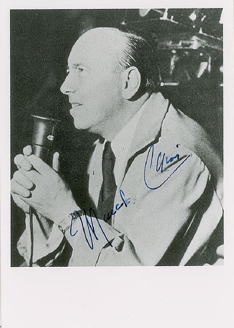 Marcel Carne Signed Photograph