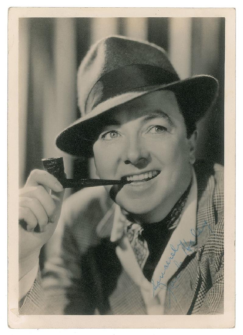 Jack Haley Signed Photograph