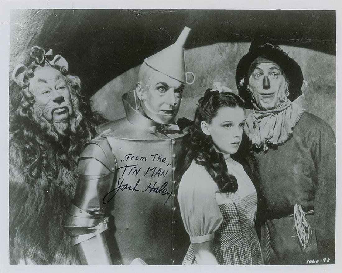 Wizard of Oz: Jack Haley Signed Photograph