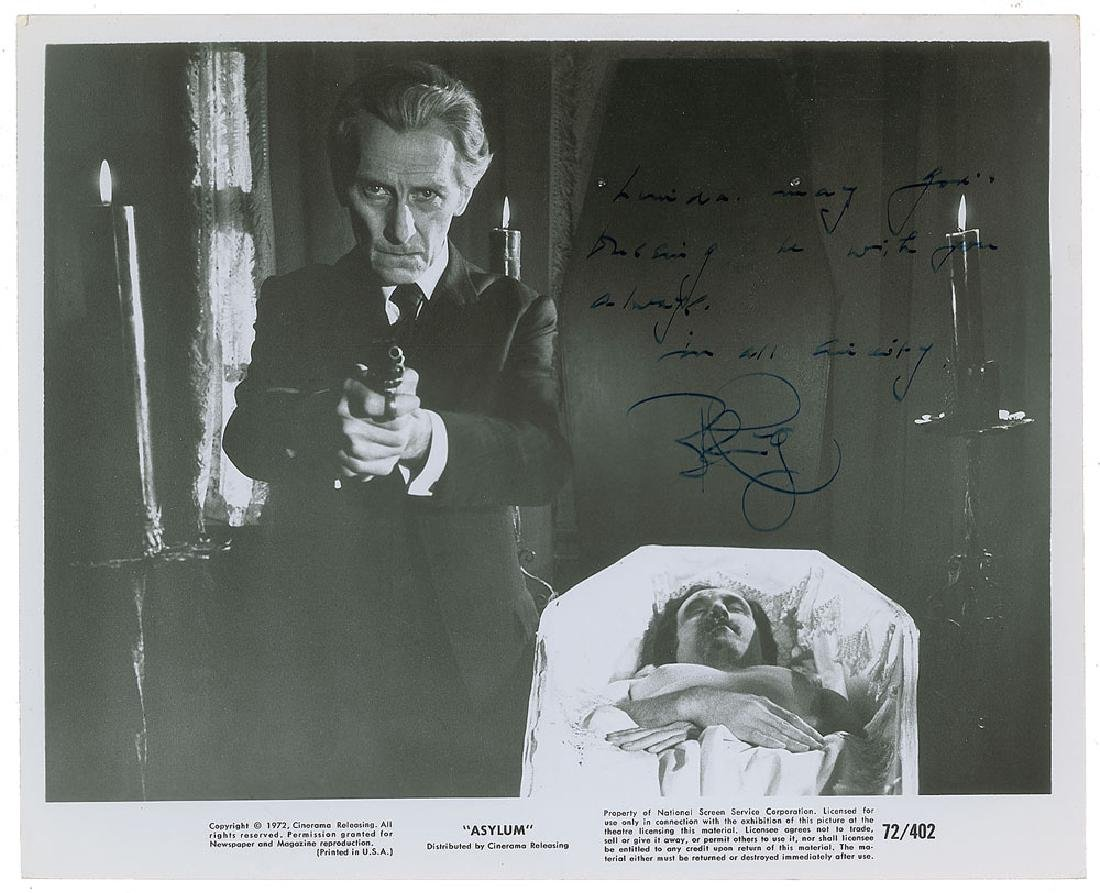 Peter Cushing Signed Photographs