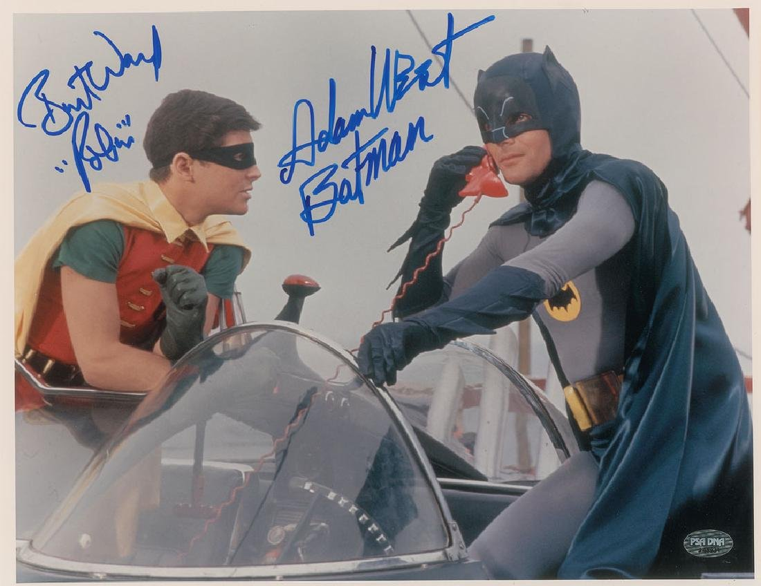 Batman: West and Ward Signed Photograph
