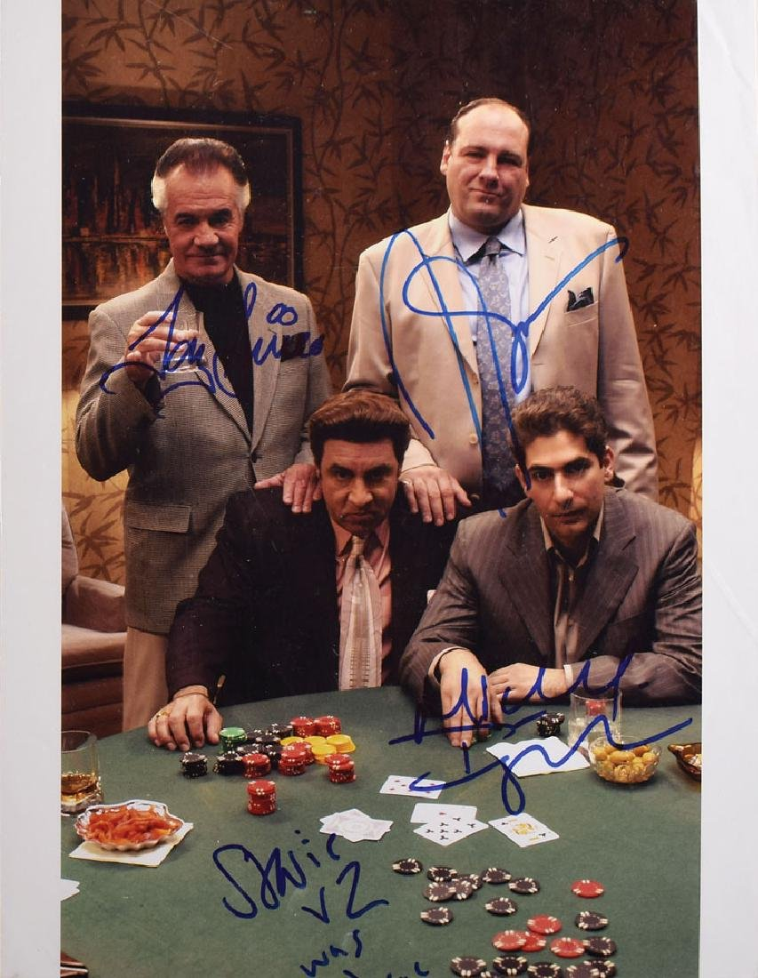 The Sopranos Signed Photograph