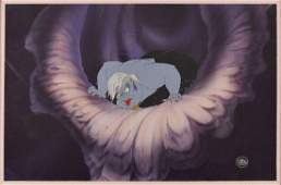 Ursula production cel from The Little Mermaid