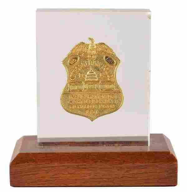 Dwight D. Eisenhower Inauguration Police Badge,