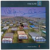 Pink Floyd Gilmour and Mason Signed Album
