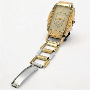 Clyde Barrow's Bulova Wristwatch Worn at His Death