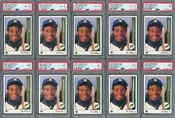 1989 Ken Griffey Jr. Upper Deck Rookie Card PSA Graded