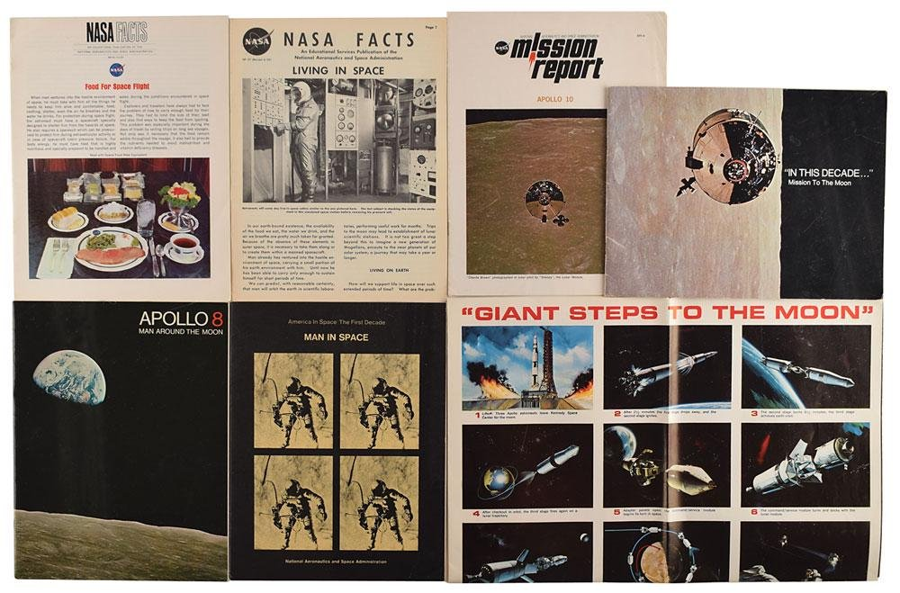 Boston: Sib Hashian's Group of Space Collectibles
