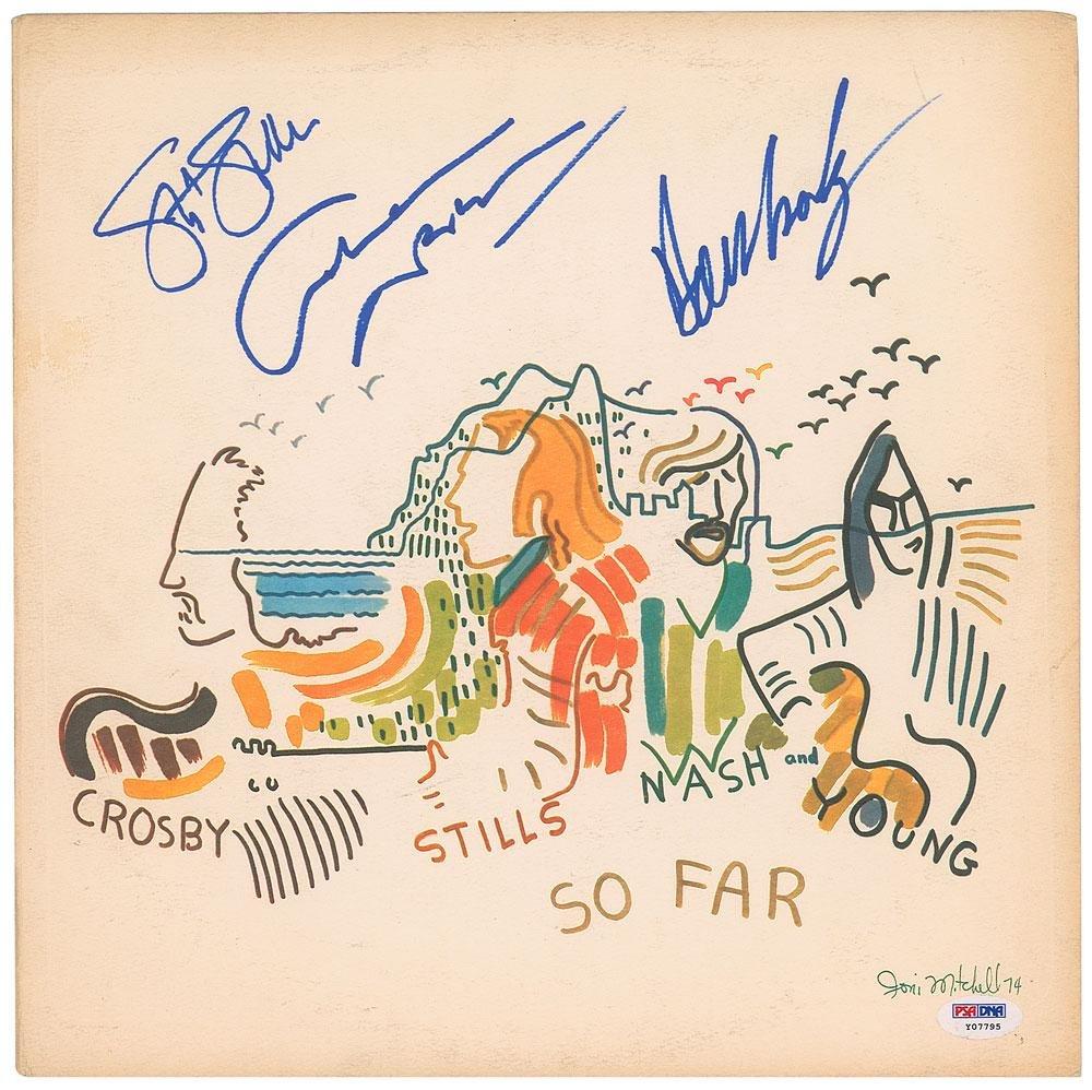 Crosby, Stills & Nash Signed Album