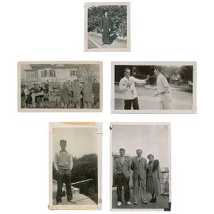 John F. Kennedy Collection of (5) Original Candid