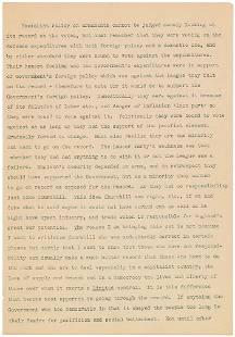 John F. Kennedy 'Appeasement at Munich' 10-Page