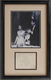 John F. Kennedy Senatorial Campaign Lot: Silk Scarf,