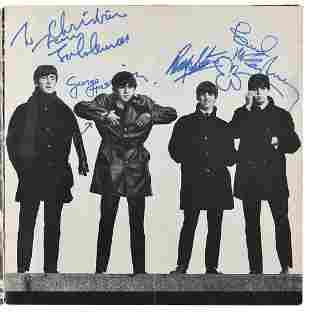 Beatles Signed 'Beatles Ltd.' Merchandise Booklet
