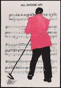 Elvis Presley Giclee Print by Joe Petruccio