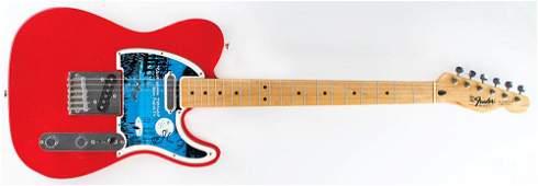 John Fogerty Signed Guitar