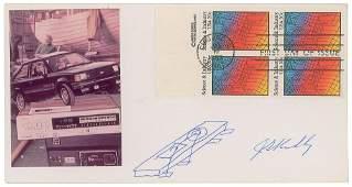Jack Kilby Signed Sketch