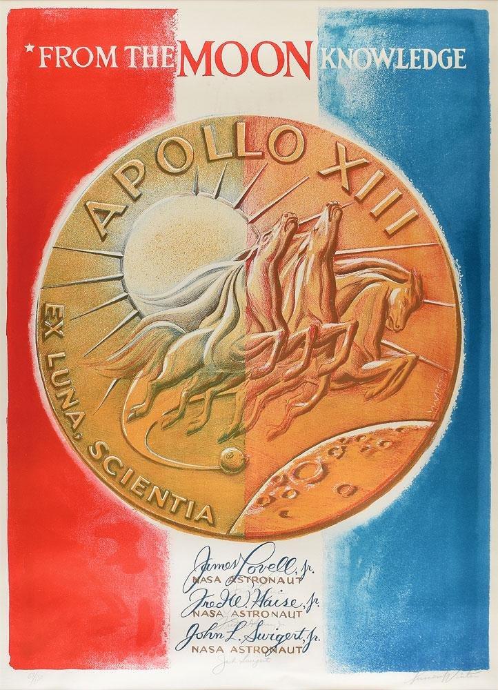 Apollo 13 Signed Lithograph