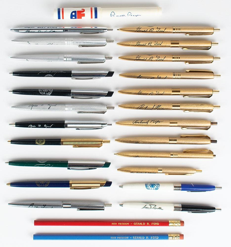 Presidential and Vice Presidential Pens