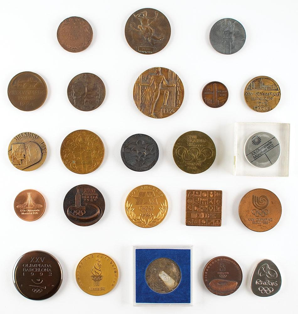 Summer Olympics Participation Medal Collection of (25)