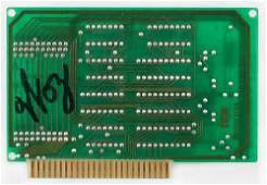 Apple Steve Wozniak Signed Disk Drive Component