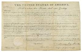Andrew Jackson Document Signed